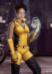 DCEU Vixen Concept by joshwmc