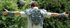God of the Dead, breastplate by organicarmor