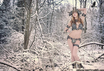 WinterWolf collaboration by organicarmor