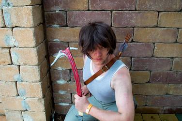 Larry Croft (Tomb Raider 2013 - Genderbend) by LordHalgor