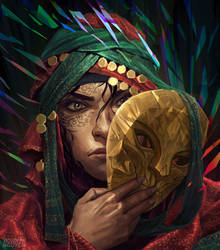 Behind The Golden Mask by AznKyuubi