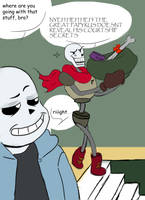 Papyrus prepares the basement by Jezter-Girl
