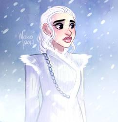 Daenerys by Mokodoko