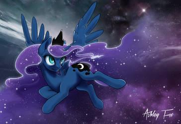 Princess Luna by Ashley-Arctic-Fox