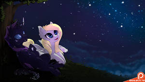 Night sky by Ashley-Arctic-Fox
