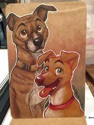 Dog ECCC Sketch by autogatos