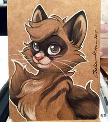 Cat ECCC Sketch  by autogatos