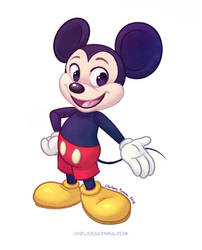 Mickey Mouse by autogatos