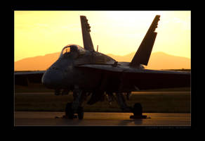 Hornet Sunset by jdmimages
