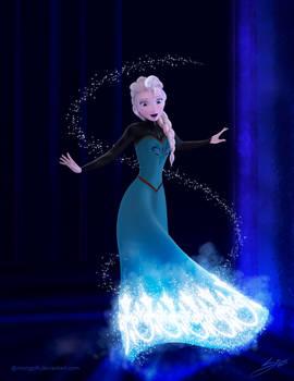 Frozen - Elsa by Mongoft