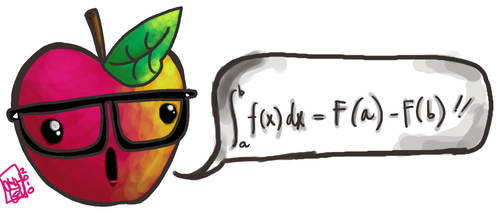 calculus apple by picklenation