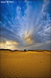 the cold Desert by Saeed-Al-Amri