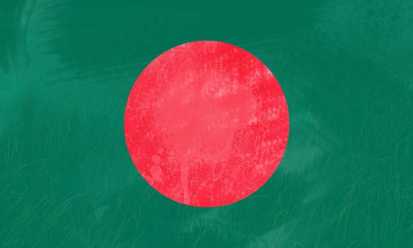 Flag of Bangladesh by naim0167