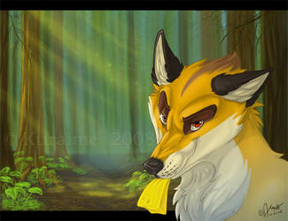 Clever Fox by Kuraime