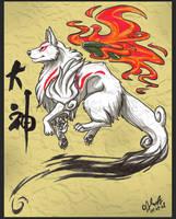 Okami Amaterasu by Kuraime