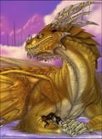 DragonLord Princess - color by Kuraime