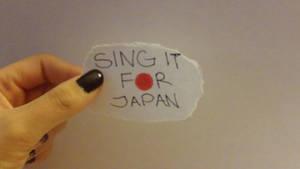 Sing It For Japan by mayaMyChemRo
