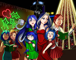 Holiday Cheer by DeviantOS-tans