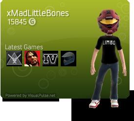 VisualPulse.net My Xbox Panel by MadLittleMods
