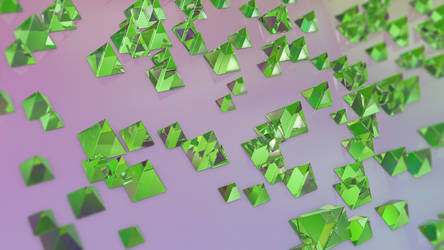 Abstract Refraction: Planar Pyramids by MadLittleMods