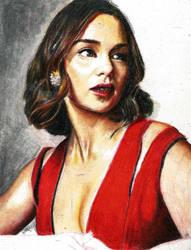 Emilia Clarke-wip by BOYKINS
