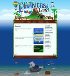 Phantasyland Web Design by Spacepretzel