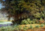 In a wild wood by Zrazhevsky-Arkady