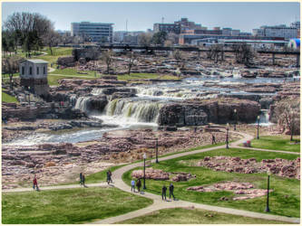 Beautiful Sioux Falls Park-SD by Leannnorrisbond