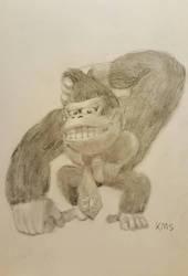 Donkey Kong by superstarmario17