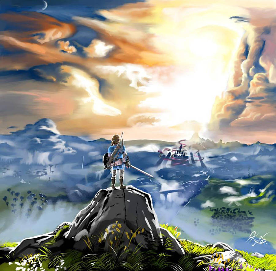 The Legend of Zelda: Breath Of The Wild by superstarmario17