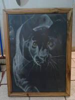 Pantera negra by Arte-Cismeria