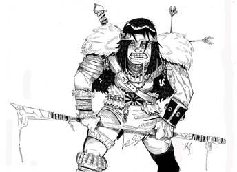 Conan by adriansincolor