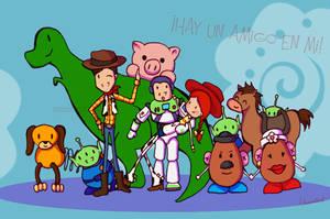 Toy Story 3 by KitKatKo