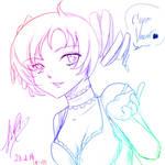 C'mon Vincent -sketch- by SabriSugar-chan