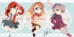 Random Chibis by SabriSugar-chan