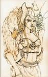 Azara Sketch by SabriSugar-chan