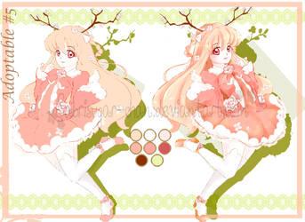 Adoptable #5: Hana Spring Fairy - OPEN by SabriSugar-chan