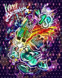 Happy 18th Birthday Deviantart! 2/2 by SabriSugar-chan
