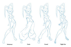 Genie Outfit Chart 1 by gamepal