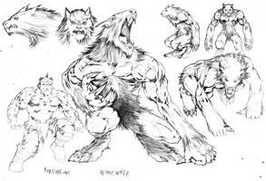 Werewolves by darkmooninc