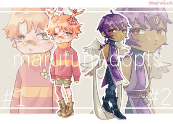 [auction] Mixed chibi batch [closed] by marutunAdopts