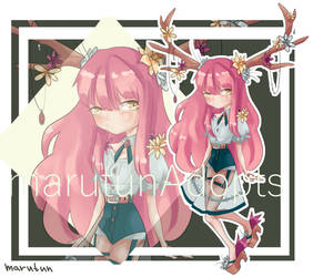[auction] Chibi girl [open] by marutunAdopts