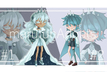 [auction] Winter Adopts [open2/2] by marutunAdopts