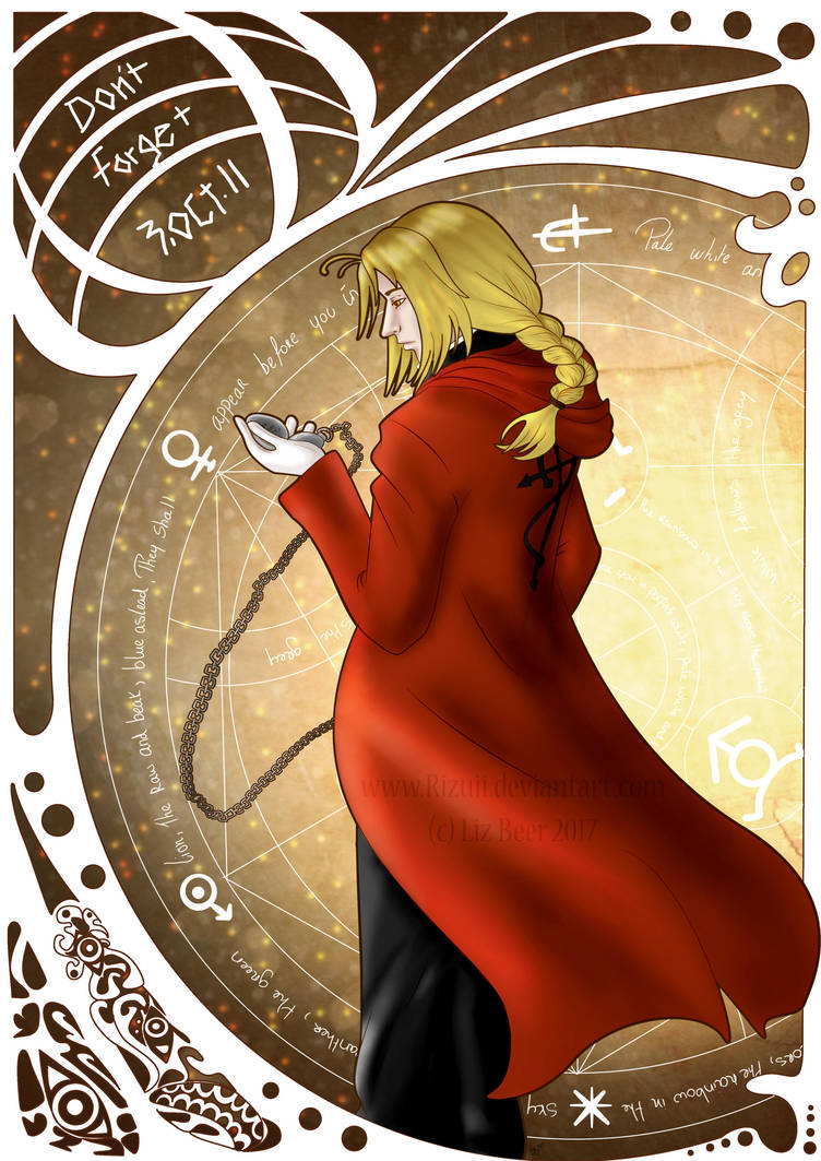 Edward Elric by Rizuii