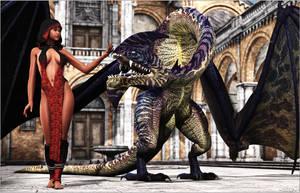 Calm down dragon by Sedorrr