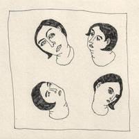 vier hoofden by CooperV