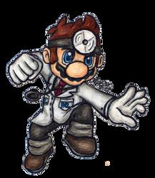 Doctor Mario by lasercraft32