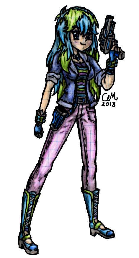 Juliet, Soldier of Loyalty by lasercraft32