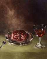 Brains, it's whats for dinner by Alayna