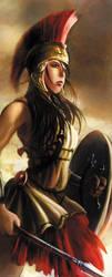 Greek goddess- Athena by Alayna
